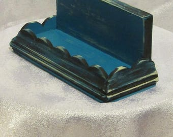 Handcrafted Business Card Holder- FREE SHIPPING