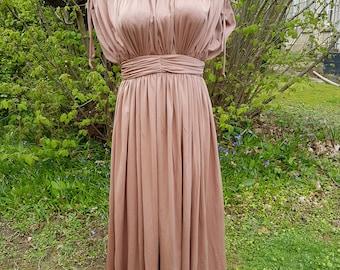 Vintage 1970's Evening Dress