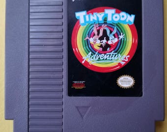 Tiny Toon Adventures NES Game 1991 Vintage Nintendo Games