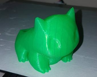 3D Printed Bulbasaur Planter (Small) - UK Seller