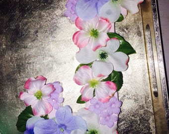 Mini Floral Nursery Letter, Customized Floral Letter, Summer Floral Letter, Spring Floral Letter
