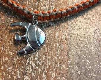 Custom Orange Goldfish Necklace