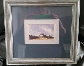 Hand Painted original water colour framed