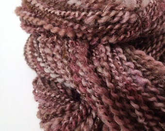Handspun Merino Multi-Fiber Blend Yarn, 150 yds. (Free US Ship)