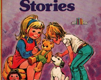 Bedtime Stories - Jane Carruth - Phil Gascoine - 1976 - Vintage Kids Book