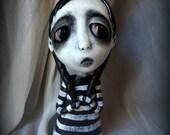 Loopy Gothic Art Doll Lowbrow Dark Goth Dolly
