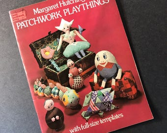 Patchwork Playthings by Margaret Hutchings  Craft Book