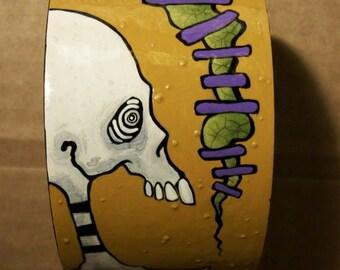 SALE, Skeleton Worm Women ZombieHead Bracelet
