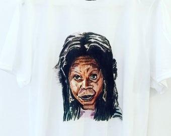 Whoopi - You In Danger Girl Art T-Shirt