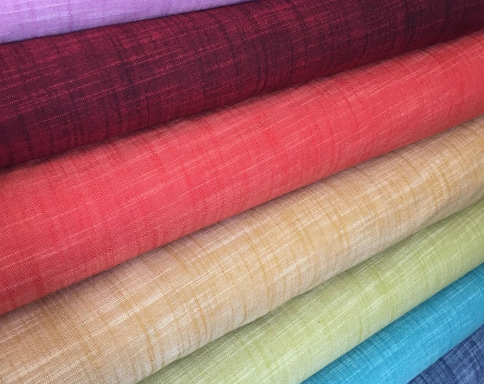 SALE fabric, Manchester Cotton, Apparel fabric, Quilt fabric, Robert Kaufman- Bundle of 7 fabrics, Choose the Cuts, Free Shipping Available