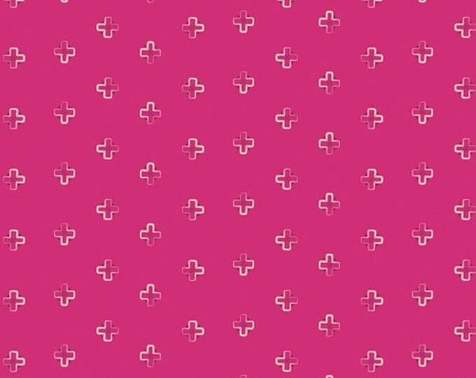 Indie Boheme fabric, Bohemian Fabric, Geometric Fabric, Fabric Shoppe, Boho decor, Art Gallery fabrics, Brief Mementos Pink- Choose your cut
