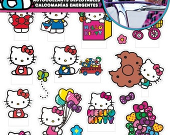 Hello Kitty Pop Up Stickers (2 sheets) (ST5141)