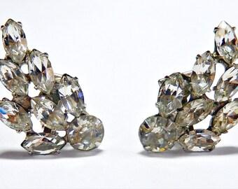 B.A. Ballou & Co. Vintage Clip On Earrings