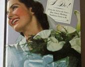 Vintage Look Wedding Book - Brides - Bridal Book - Wedding Book - Vintage Images - Vintage Weddings -