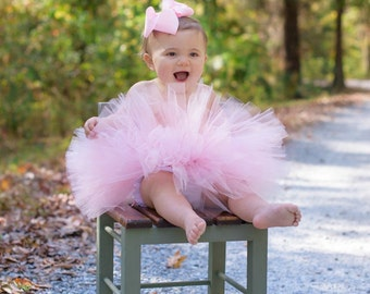 1st Birthday Outfit Tutu, Cake Smash Outfit Girl Tutu, First Birthday Outfit Girl Tutu, 1st Birthday Tutu, First Birthday Tutu, SEWN Tutu