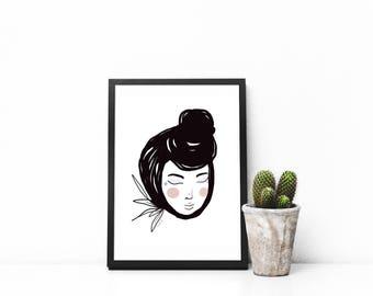 Carmelina Art print