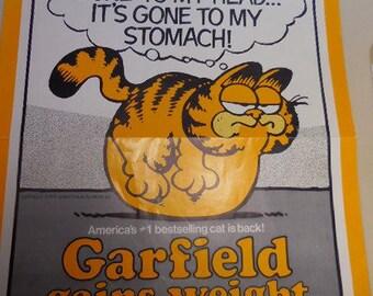 Vintage Garfield Ballantine Books Poster
