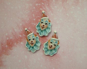 Clown set of 3
