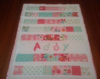American Girl Doll Quilt for Addy