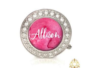 Personalized Rhinestone Purse Hanger, Custom Bag Holder, Purse Hook, Bridesmaid Gift Style (640)