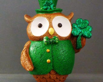 Clover the Owl Figurine