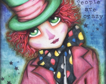 Mr. Hatter - 8x10 Signed Print