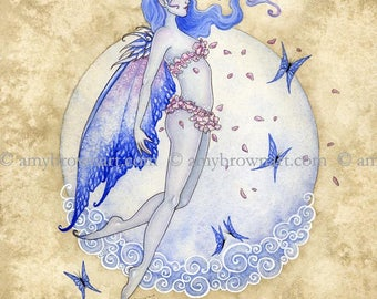 5x7 Air Elemental Fairy PRINT by Amy Brown