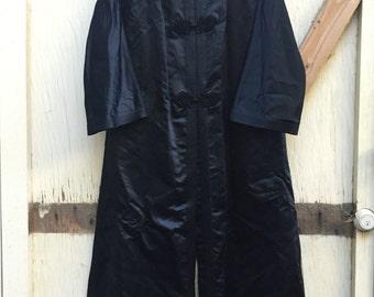 Silk Duster Coat Etsy Uk