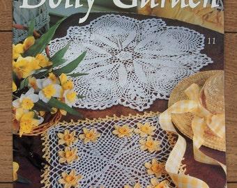1995 crochet patterns doilies Doily Garden by Delsie Rhoades 12 designs floral