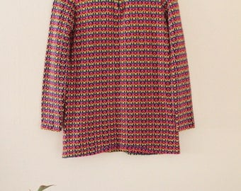 60's Mod Long Sweater