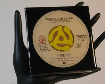 Climax Blues Band - Very Cool Drink Coaster Made with The Original 45 rpm Record