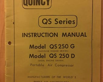 Quincy gas Compressors service manual yamaha 115 outboard price
