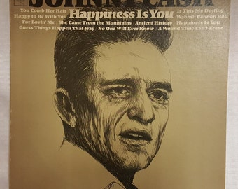 Johnny Cash - Happiness Is You Vintage Record