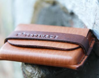 Leather Brown cardholders - visiting cards