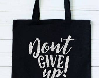 Tote Bag/Don't Give Up/JW Gift/Personalized Tote Bag/District Convention Gift/No Se Rinda/Gym Bag