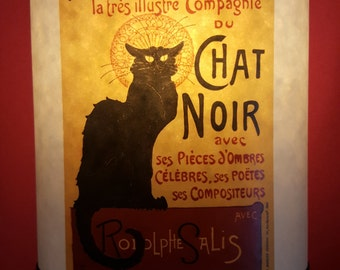 Lampshade Chat Noir