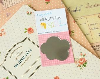 Mini Mirror Sticker - Cloud