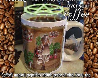 Goddess Caffeina 15 oz Coffee Mug
