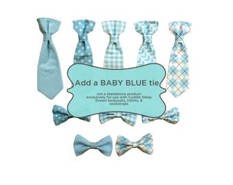 Extra Baby Blue Tie. Light Blue Tie.  Bow tie for boys. baby boy, toddler boys