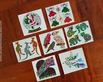 Christmas stickers, Parrot stickers, Koala Bear stickers, Kangaroo stickers, Piano stickers, Music stickers, Bird stickers, Hambly stickers