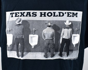 Texas Hold 'Em T-Shirt, Paul Stanton Cowboy Tee