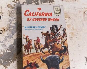 1954 CALIFORNIA Vintage Notebook Journal