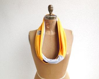 Kutztown University T Shirt Scarf Womens Scarves Infinity Scarf Women's T-Shirt Scarf Recycled Scarf T Shirt Clothing ohzie