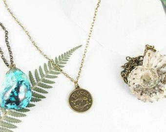Pisces Zodiac Necklace