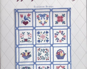 Applique in a Day – Quilt in a Day Quilt Block Party Series Six by Eleanor Burns - TIB12495