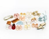 Vintage Lot of Doll Shoes and Doll Accessories