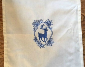 Winter Stag Tarot/Altar Cloth