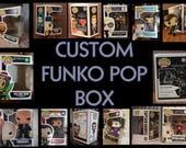 Custom Funko pop box - Single and Double boxes!