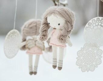 PATTERN - Little angel doll - crochet pattern, amigurumi pattern, PDF