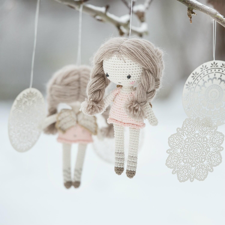 Free Crochet Angel Doll Pattern : PATTERN Little angel doll crochet pattern amigurumi